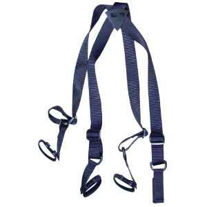 Uncle Mike's Nylon Web Duty Suspenders, Large/Extra