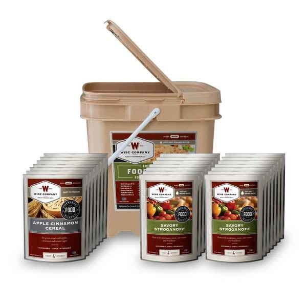 Wise Company 84 Serving Breakfast & Entree Grab & Go Food Kit