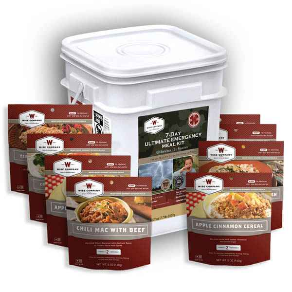 Wise Company 7 Day Ultimate Emergency Meal Kit