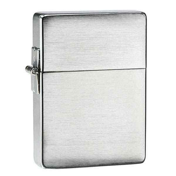 Zippo Brushed Chrome, 1935 Replica
