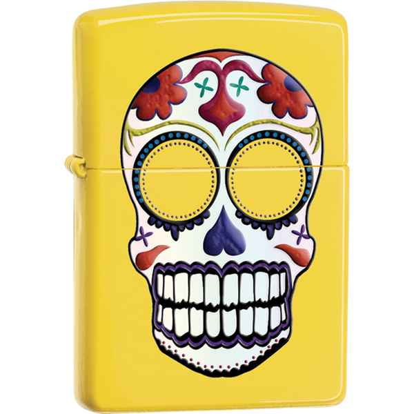 Zippo Lemon, Day of  the Dead Skull