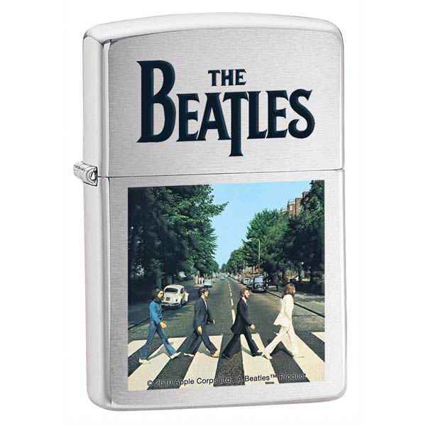 Zippo Brushed Chrome, The Beatles