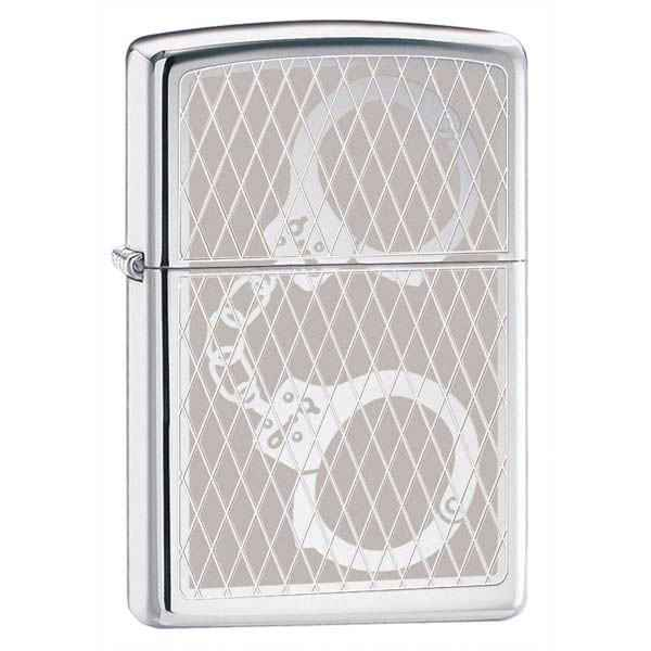 Zippo High Polish Chrome, Handcuff