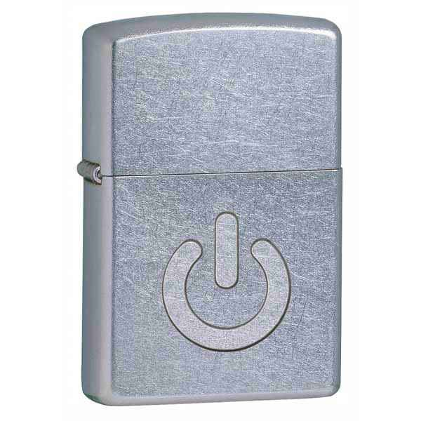 Zippo Street Chrome, Power Button
