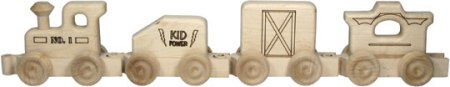 "Maple Landmark 24"" 4-car Train - American Made"