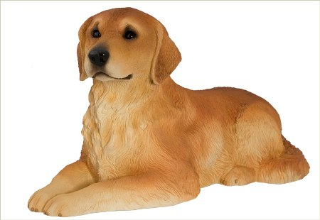 Golden Retriever  Urn / Sculpture Made in America