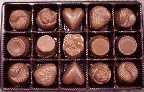 8pc Assorted Chocolates - Made in America