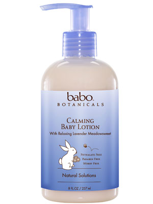 Calming Moisturizing Baby Lotion Made in USA - Lavender