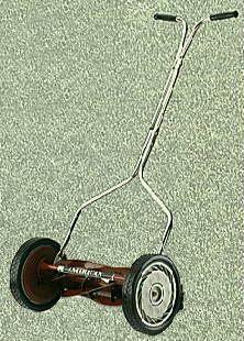 "Standard Light Reel Mower Made in USA by American Lawn Mower <FONT FACE=""Times New Roman"" SIZE=""+1"" COLOR=""#FF0000""> On Sale Now! </font>-"