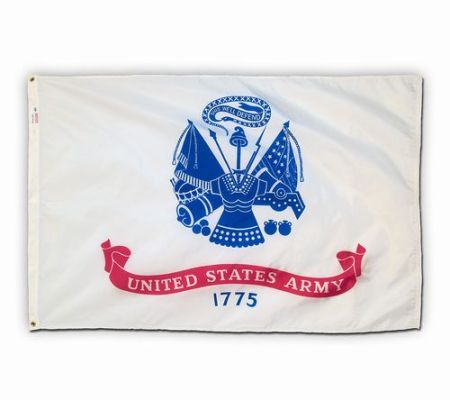Spectrapro Spun Polyester Army Flag - American Made
