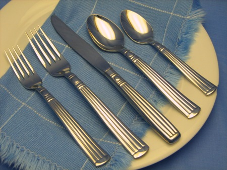 American Made Stainless Steel Flatware Made in America - Lincoln