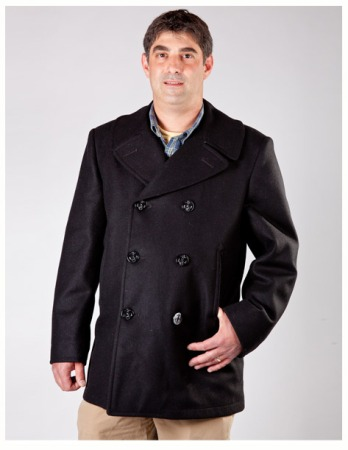 Navigator Peacoat Made in USA