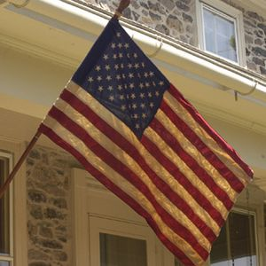 Heritage 2 1/2'x4' Cotton 50-Star American Made Flag