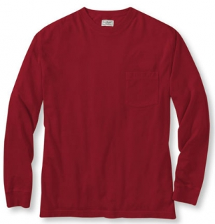 Big & Tall Long Sleeve Pocket T-Shirt  Made in USA