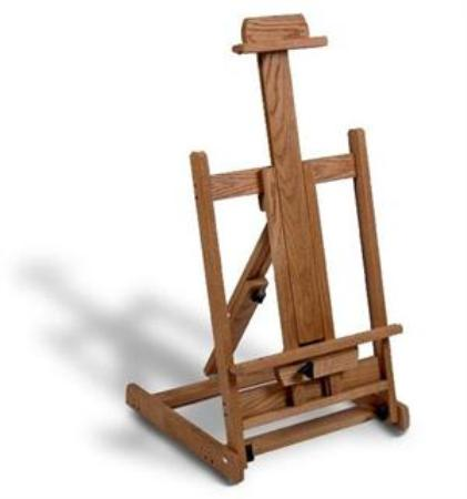 Solid Oak Table Top Easel Made in USA by American Easel