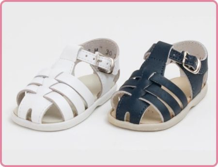 Children's Fisherman Sandals Made in USA - Sizes 1-4