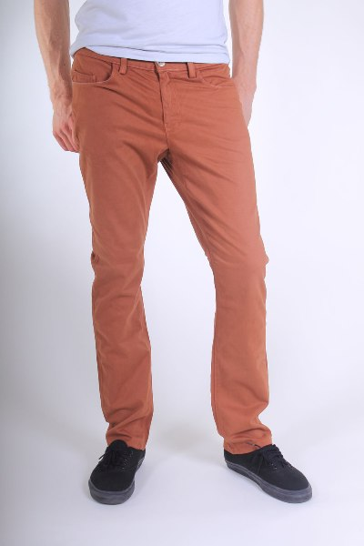 Brushed Twill Slender Prime Pant Made in USA by Alex Maine