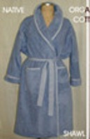 Organic CottonTerry Shawl Robe - American Made