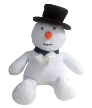 Mr. Snowman Stuffed Animal Made in America