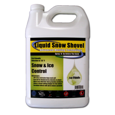 Liquid Snow Shovel Ice Melt Made in USA- 1 Gal