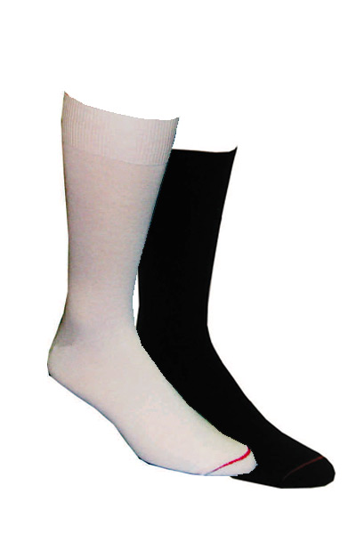 Moisture Wicking Polyester Liner Socks Made in USA - 4 Pairs