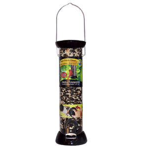 "Onyx Clever Clean 12"" Sunflower/Mixed Seed Feeder with Microban Antimicrobial Technology - Made in USA"