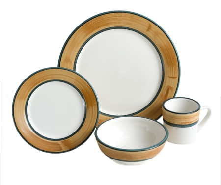 Terra Patina 4-Piece Place Setting - American Made