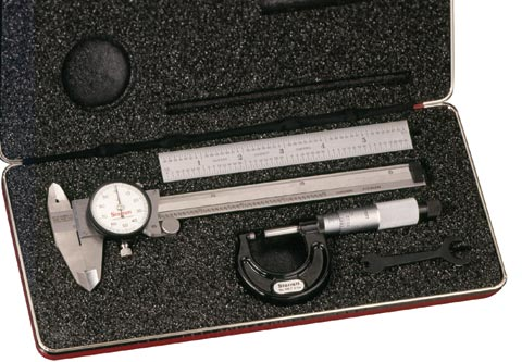 Starrett Basic Measuring Tool Set - Made in USA