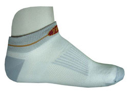 Techni-Wool Mini White  Socks - 3  Pairs - Made in USA
