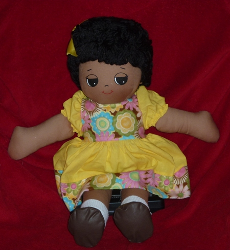 Unity Rag Doll Plus Choice of Dress-Made in USA