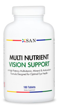 Multi Nutrient Vision Support & Multi Vitamin Made in America