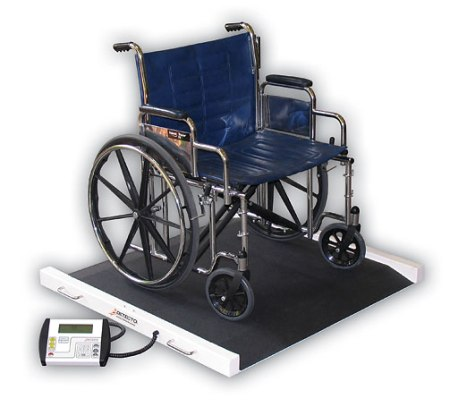 Detecto Portable Bariatric Wheelchair Scale - American Made
