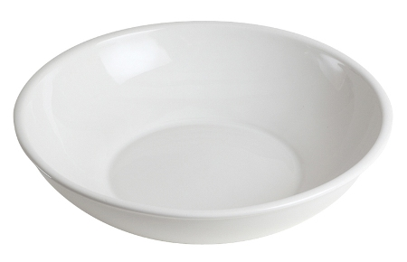 Classic White Pasta/Salad Serving Bowl