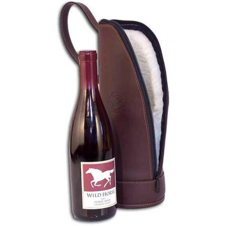 Leather Wine Case made in USA
