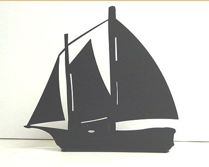 North Country Windjammer Ship Bookends American Made