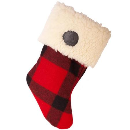 Christmas Stocking in Wool American Made