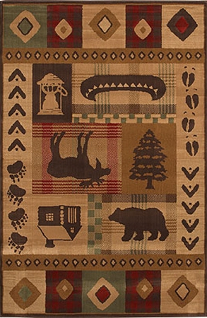 Mohawk Woolrich Westland Rug  - Made in USA