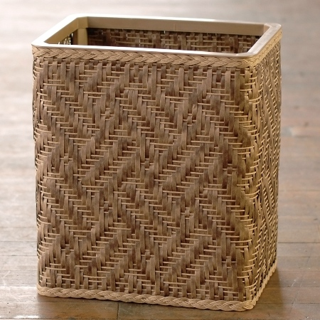 Rectangular Wastebasket -  American Made