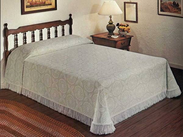 Maine Heritage Weavers Heritage Bedspread - Made in America