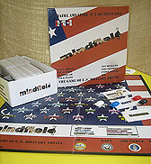 Mindfield Trivia Game of USA Military History  American Made