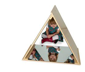 Triangle Mirror Tent Made in USA