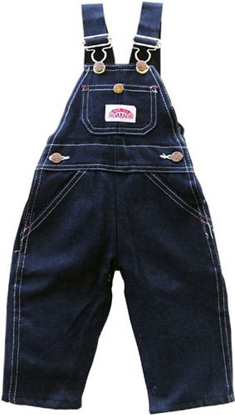 Blue Denim Bib Overalls Made in USA