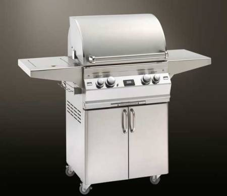 Fire Magic Aurora A430 Gas Grill On Cart w SideBurner- Made in USA