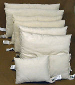 Travel Size Pillows, Organic Cotton