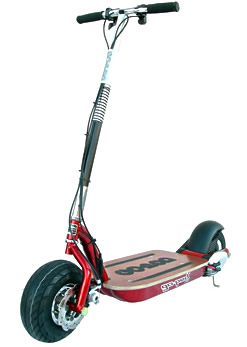 Go-Ped Electric (ESR750EX) Candy Apple Red Scooter - Made in America