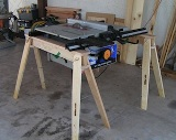 HideAHorse Folding Sawhorse American Made Set of 2