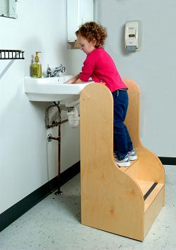 Tall Step Stool  Made in USA
