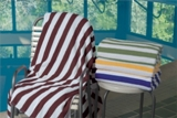 Millennium Premium Cabana Stripe Pool , Beach & Bath Towel Made in America