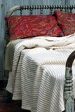 Natural Rib Cotton Blanket - Made in America