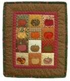 Pumpkin Mini Quilt Made in USA